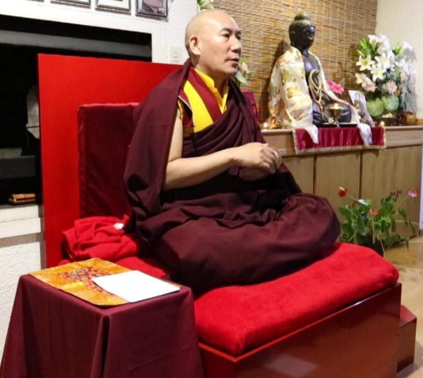 Chamtrul Rinpoche 75.